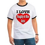 I Love Naughty & Nice Girls! Ringer T