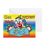 OES Get Well Greeting Cards (Pk of 20)