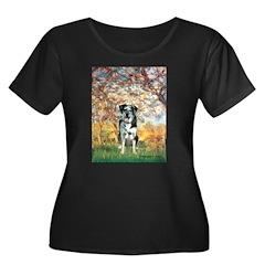 Spring / Catahoula Leopard Dog Women's Plus Size S
