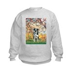 Spring / Catahoula Leopard Dog Kids Sweatshirt