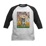 Spring / Catahoula Leopard Dog Kids Baseball Jerse
