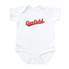Retro Garfield (Red) Infant Bodysuit