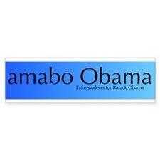 amabo Obama Bumper Bumper Sticker