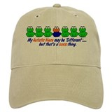 Different FROGS 1 (Niece) Baseball Cap