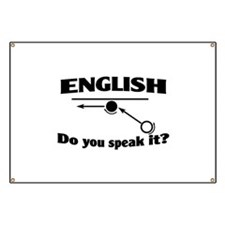 Speak English Banner