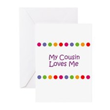 My Cousin Loves Me Greeting Cards (Pk of 10)