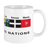Celtic Nations Small Mugs