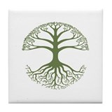 Deeply Rooted Tile Coaster