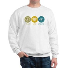 Peace Love Optometry Sweatshirt