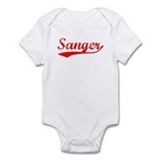 Vintage Sanger (Red) Infant Bodysuit