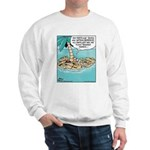 Cat on Deserted Island Sweatshirt