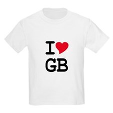 Great Britain Heart T-Shirt