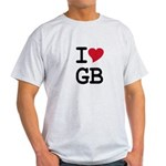 Great Britain Heart Light T-Shirt
