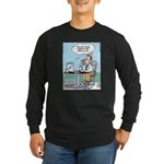 Wireless Technology Long Sleeve Dark T-Shirt
