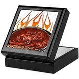 Glowing Street Rod Keepsake Box