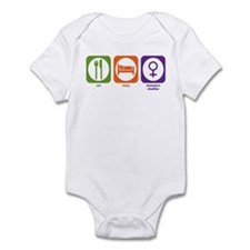 Eat Sleep Women's Studies Infant Bodysuit