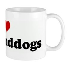 I Love my granddogs Mug