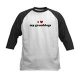 I Love my granddogs Tee