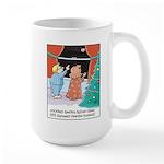 GPS Santa Sleigh Large Mug