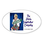 Jolene Sugarbaker Company Oval Sticker