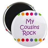 "My Cousins Rock 2.25"" Magnet (10 pack)"