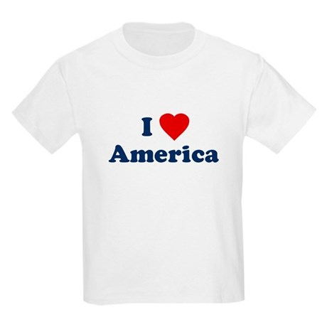 I Love [Heart] America Kids T-Shirt