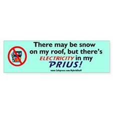 NEW! PRIUS OWNER? Toyota PRIUS Bumper Sticker GIFT