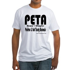 PETA Fitted T-Shirt