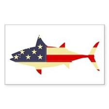 """Patriotic Tunoid"" Rectangle Decal"