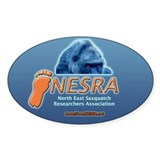 NESRA Sticker - Oval - 5 in.W x 3 in.H
