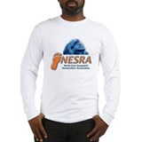 NESRA Long Sleeve Light T-Shirt - Gray or White