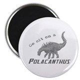 Grayscale Polacanthus Magnet