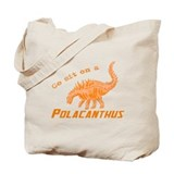Orange Polacanthus Tote Bag