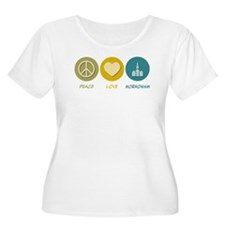 Peace Love Mormonism T-Shirt