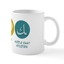 Peace Love Middle Eastern Studies Mug