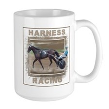 Brown Harness Racing Mug