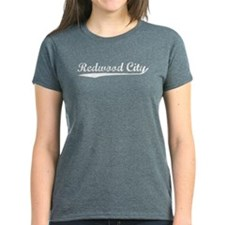 Vintage Redwood City (Silver) Tee