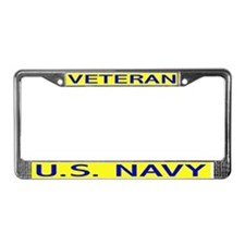U. S. Navy Veteran License Plate Frame