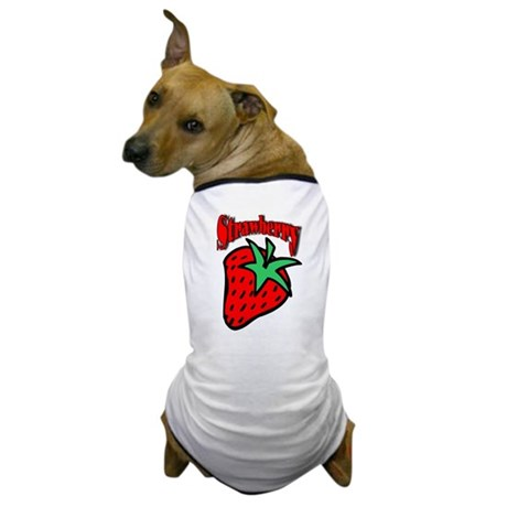 Strawberry Shirt Dog T-Shirt