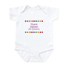 Thank Heaven for Cousins Infant Bodysuit