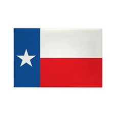 TEXAS-FLAG Rectangle Magnet