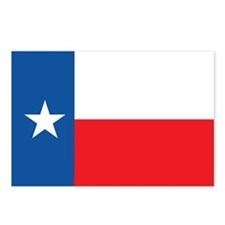TEXAS-FLAG Postcards (Package of 8)