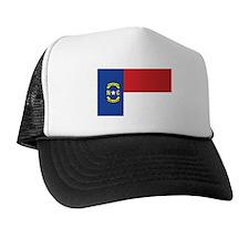 NORTH-CAROLINA-FLAG Trucker Hat