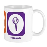 Eat Sleep Research Small Mug