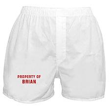 Property of BRIAN Boxer Shorts
