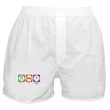Eat Sleep Registered Nursing Boxer Shorts