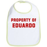 Property of EDUARDO Bib