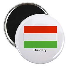 Hungary Hungarian Flag Magnet