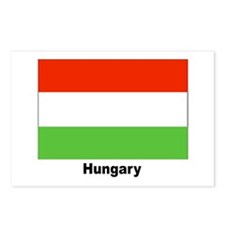Hungary Hungarian Flag Postcards (Package of 8)