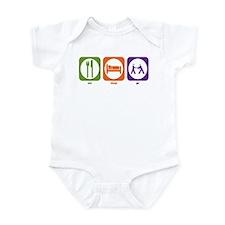 Eat Sleep PR Infant Bodysuit